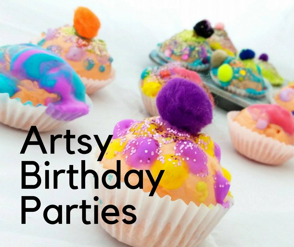 Orange Easel Birthday Parties