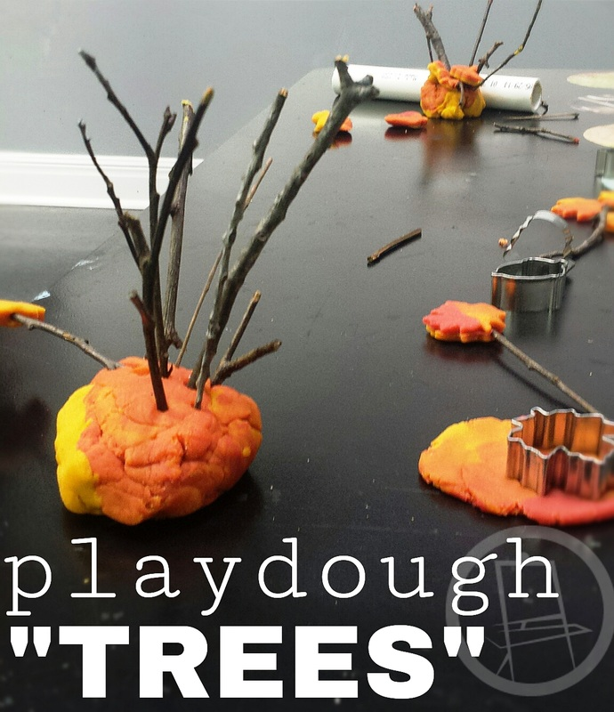 Fall Preschool Activity: Playdough