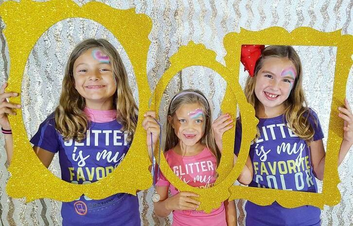 Summer Art Camps for kids who love GLITTER!  If you're local to the Kansas City area, make plans to come to our annual GLITTERFEST!