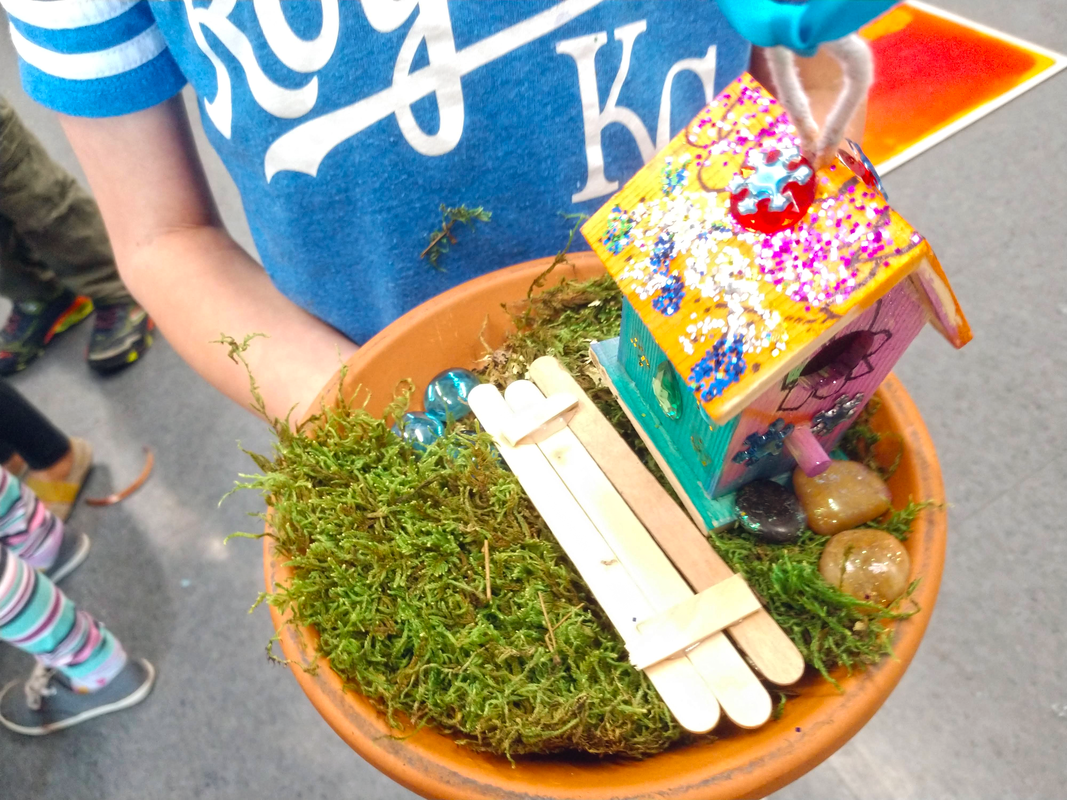How to host your own Fairy House Art Activity for Kids Camps, Classes, and Birthday Parties