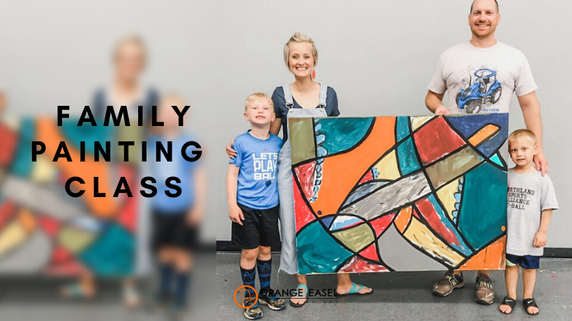 Family Art Class: Collaborative Painting