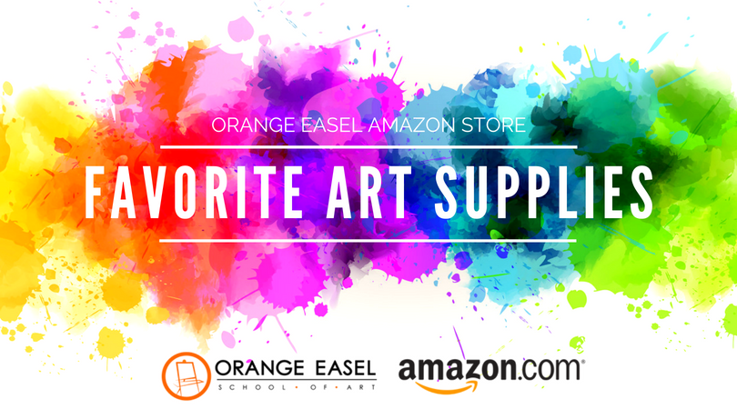 Recommended Art Supplies from the Orange Easel team.