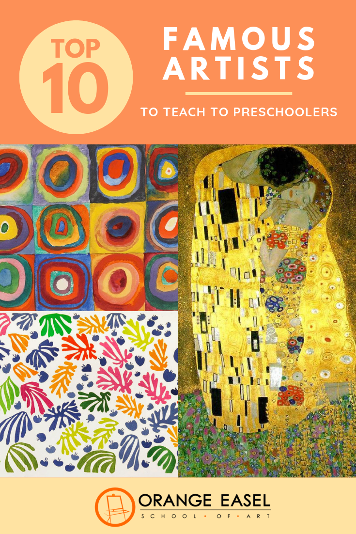 Teaching Art History to Preschoolers can be engaging and full of process art invitations. We've compiled a list of OUR favorite famous artists, why we love each one, and collection of art activity links to help you if you're planning an art history curriculum in your classroom. So, who made the list? It might surprise you...