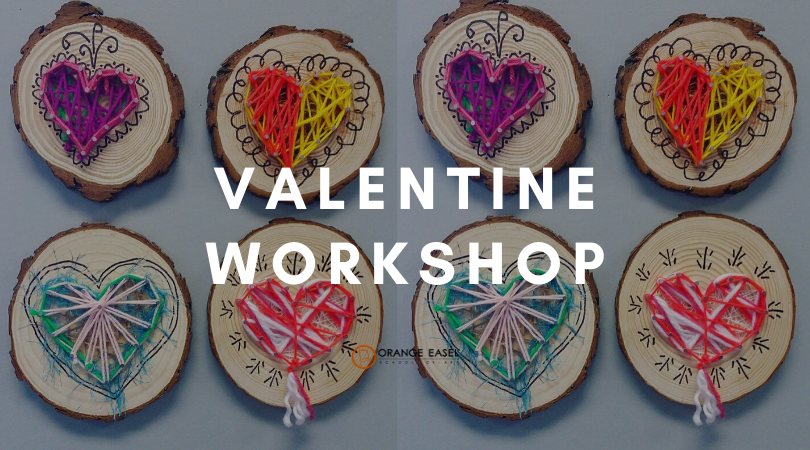 String Art Hearts for Handcrafted Valentines