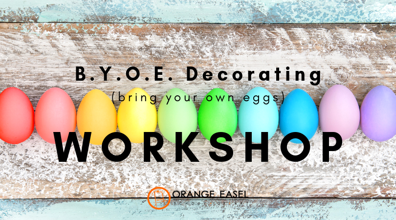 Egg Decorating Workshop for Kansas City artists of all ages!